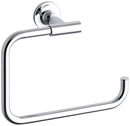 Kohler Purist Towel Ring (Silver)