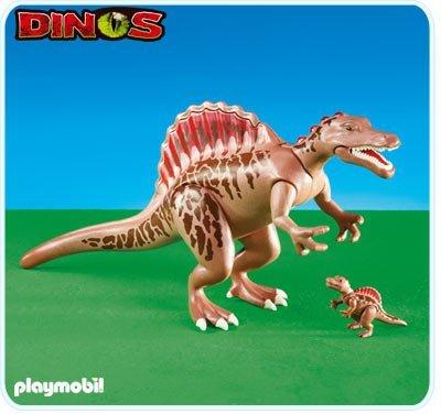 Spinosaurus met baby