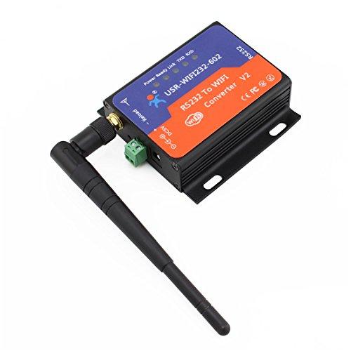 USR 1 Stück USR-WIFI232-602 RS232 zu WiFi WLAN 802.11 b / g / N Konverter RS232 Daten WIFI oder TCP IP Socket , Wifi Converter