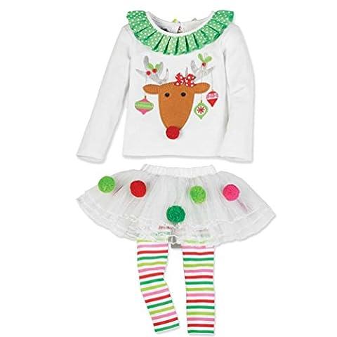 Costumes Avec Long Black Socks - kolylong bébé filles mignon de Noël avec
