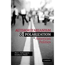 Authoritarianism and Polarization in American Politics