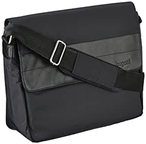 Bugatti Bags Messenger Bag Dynamics  Medium,  black - BLACK, 49103701