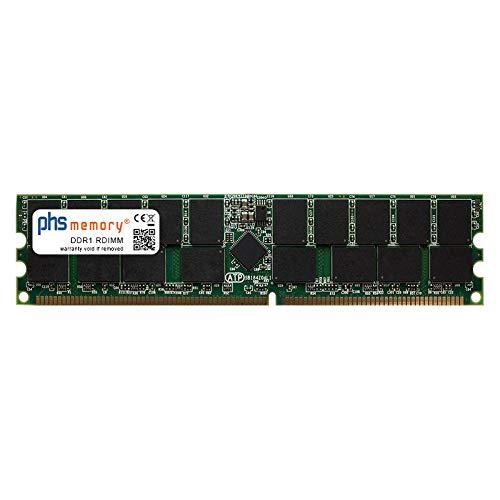 PHS-memory 2GB RAM Speicher für Supermicro A+ Server 2020A-8R DDR1 RDIMM 400MHz PC3200R -