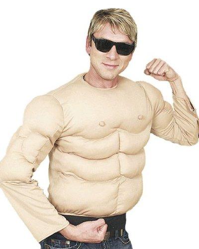 Muskel-Shirt (Kostüme Muskel Erwachsene)