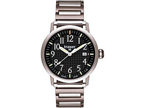 Traser H3 Reloj los Hombres Classic Basic Black 100315