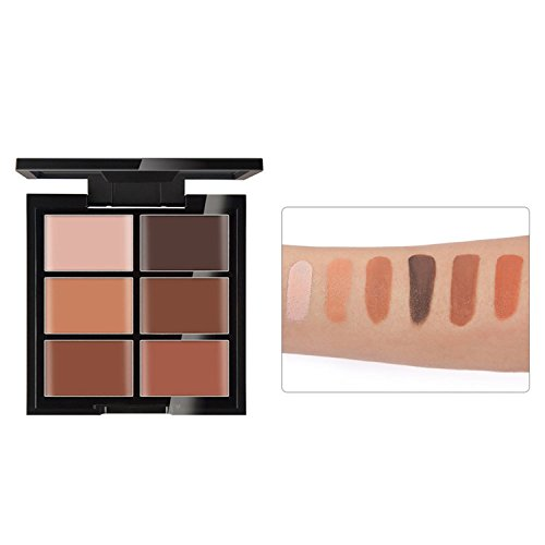 Beauté Maquillage Visage 6 Couleurs Clarifiant Peau Correcteur Contour Contouring Yeux Noirs Fond de Teint Correcteur Cover Acné Pommade