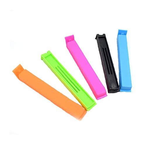 tJexePYK Kunststoff Sealing Clip Multicolor-Tasche Halten Clamp