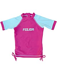 FEDJOA - Camiseta de baño con protección solar UV - niña - CANDY