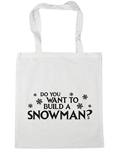 HippoWarehouse ,  Damen Strandtasche Gr. Einheitsgröße, weiß (Snow White Outfit Ideen)
