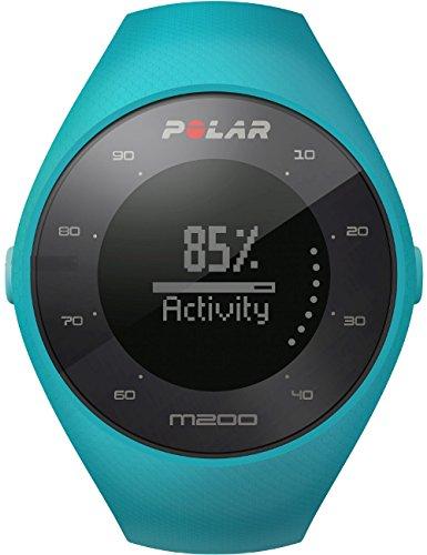 Polar M200 - Reloj de Running con GPS y Frecuencia cardíaca en la muñeca - Actividad 24/7 - Azul  M/L