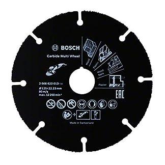 Bosch Professional 2608623013 Disco multimaterial de carburo para amoladora (125 mm)