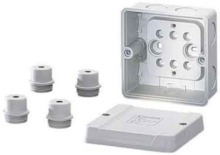 Hensel D 9020Electrical Junction Box-Electrical Junction Boxes - Box Halogen-wand