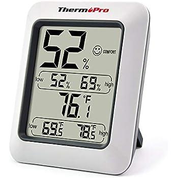 Thermopro tp55 thermom tre hygrom tre num rique jauges de temp rature d tecteur de temp rature - Deshumidificateur chambre bebe ...