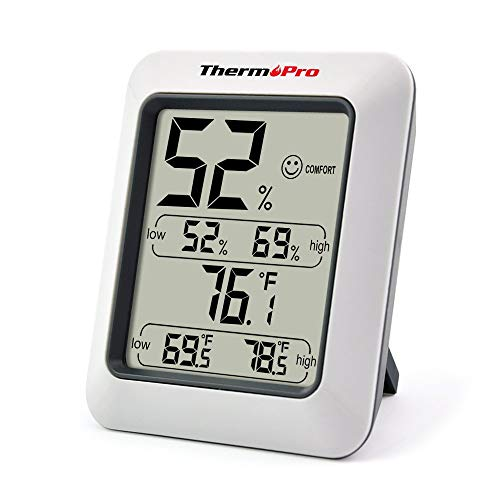 ThermoPro TP50 digitales Thermo-Hygrometer thumbnail