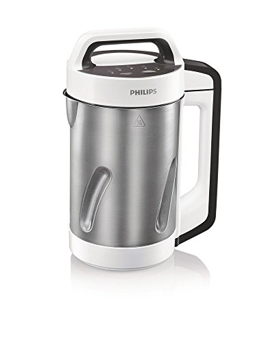 Philips Viva Collection HR2201/81 1.2-Litre Soup Maker (White/Cashmere Grey)  available at amazon for Rs.8999