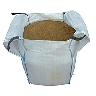 LARGE BULK DUMPY BAG SHARP SAND 855KG FOR FINE CONCRETE WORK