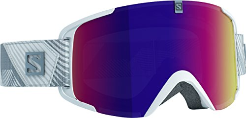 Salomon Xview - Gafas de esquí, color blanco (solar infrared)