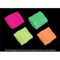 Pack of 2 x Neon Sweatbands [Neon Green]