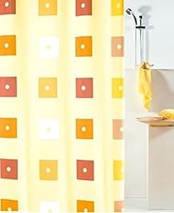 Leifheit Duschvorhang Colin Terra Textil Polyester, 180 x 200 cm.