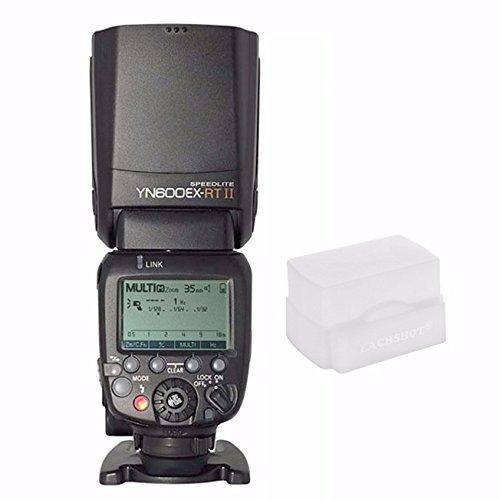 YONGNUO Aggiornato YN600EX-RT II Wireless Flash Speedlite con il Maestro ottico e TTL HSS per Canon AS Canon 600EX-RT w / EACHSHOT Diffusore