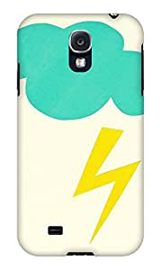 The Fappy Store Lightning-Strike plastic back case cover for Samsung Galaxy S4