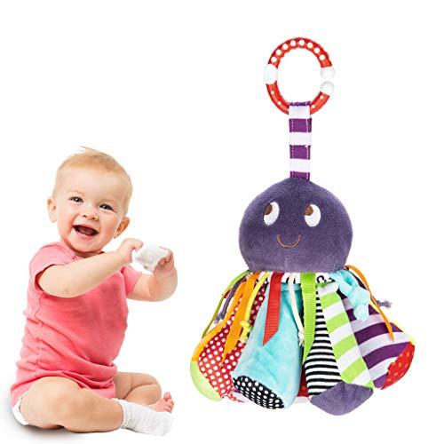 Skryo-Spielzeug Octopus Stuffed Baby Toy zur Unterstützung der frühen Kindesentwicklung Kleinkinder (Octopus Kleinkind Kostüm)