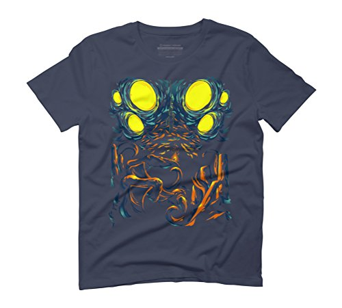 Depths Below Men's Graphic T-Shirt - Design By Humans Navy