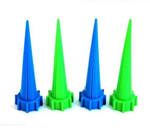 Interesting® 4Pcs Hight Qualität automatische Bewässerung Bewässerung Spike Garten Pflanze Blume Tropfwasser Sprinkler