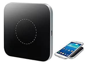 Z2 QI standard Chargeur sans fil Pad pour les téléphones cellulaires (Argent)