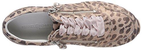 Kennel und Schmenger Schuhmanufaktur Nova, Sneaker Donna Pink (Rose Sohle Rosa-Weiß)