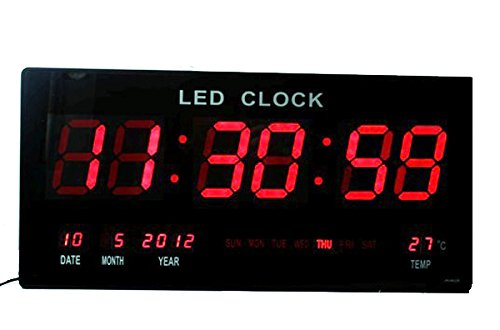 Sanda SD-0006 Reloj Digital Pared Led Color