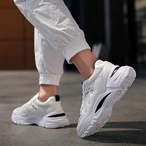 XZB-shoes Scarpe Comfort Uomo Maglia Primavera & Fall Scarpe da Ginnastica Scarpe da Corsa Scarpe da Ginnastica a Piedi Scarpe,C,40