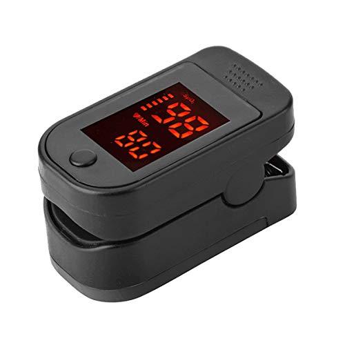 MAyouth Pulsoximeter-Finger mit LED-Anzeige - Display Herzfrequenzsensor - Digitales Blutsauerstoff- und Pulssensor-Messgerät mit Alarm - Home und Sport - Für Erwachsene, Kinder