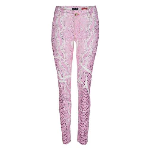 Just Cavalli Hose pink snakeprint Gr. 26