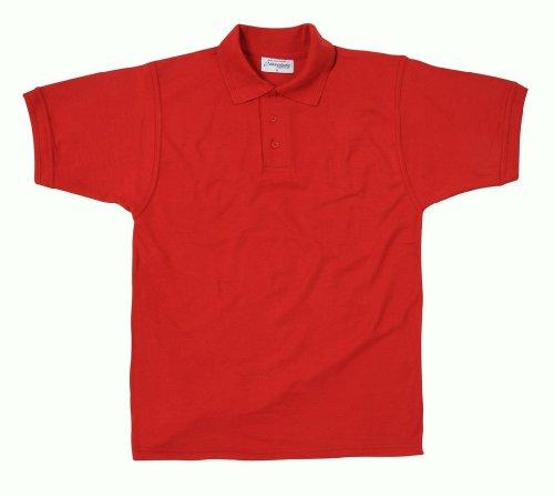 Absolute ApparelHerren Poloshirt Rot