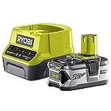 Ryobi RC18120-140 Pack Cargador 1 h + 1 Batería Litio-Ion 18V 4,0 Ah