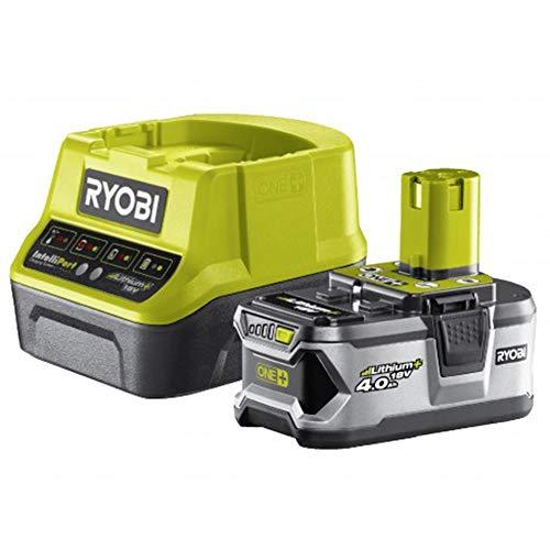 Ryobi RC18120-140Lot chargeur 1h + 1batterie 18V 4Ah