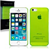 Call Candy Slim Fit Snap On Case for iPhone 5S - Green