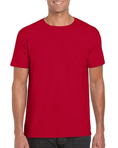 GILDAN -T-shirt  Uomo Medium,Cherry Red