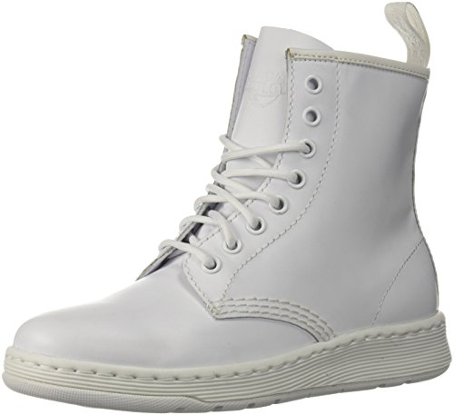 Dr. MartensR23169100 - Newton Mono Bianco Unisex - Adulto, Bianco (Infradito Colorati Estivi, con finte Perline), 35 EU