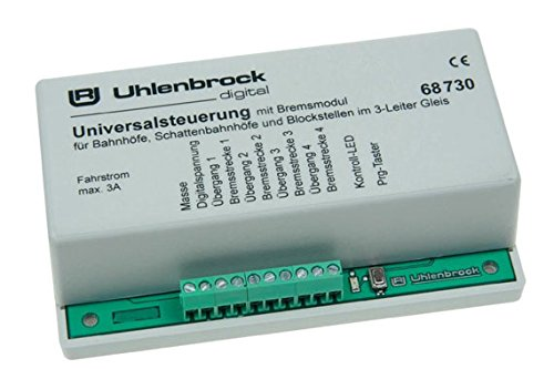 Uhlenbrock 68730 Universalsteuerung für 3-Leiter-Gleis