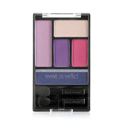 (6 Pack) WET N WILD Color Icon Eyeshadow Palette 5 Pan - Floral Values