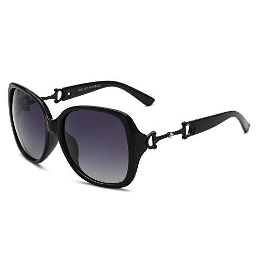 BiuTeFang Gafas de Sol Mujer Hombre Polarizadas Señoras Dos Colores Gafas  de Sol polarizadas progresivas Sapo 32ff2ddae2a1