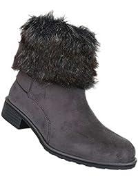 Fashion Overknee Stiefel Damen Schuhe Used High Heels 8500 Schwarz 40