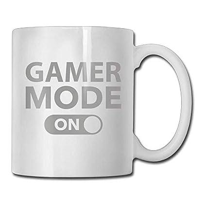 Gamer Mode On 1 Custom Coffee Mugs 11 Oz Birthd...