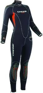 CRESSI Damen Tauchanzug 5mm Lontra 100% High Stretch, schwarz, I-XS-36