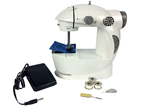 Hyfive® Mini Sewing Machine Electric Twin Speed Portable for sale  Delivered anywhere in UK