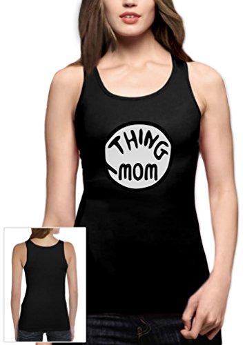 Sache Mom Frauen Schwarz XX-Large Tank (Passenden Mom Halloween Kostüme)