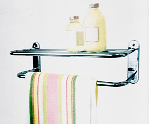 Aqualona Chrome Plated Double Towel Rail