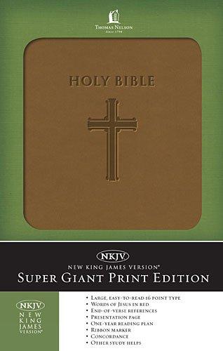 Super Giant Print Bible-NKJV